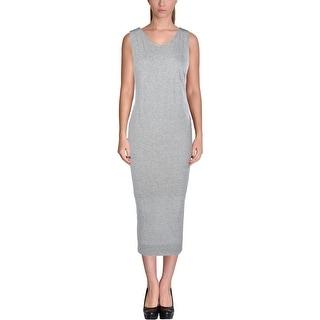 Helmut Lang Womens Tank Dress Modal Heathered - s