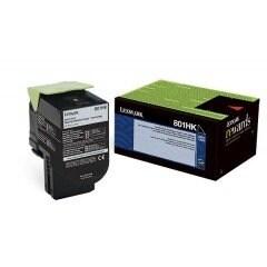 Lexmark 80C1hk0 Black High Yield Return Program Toner