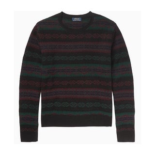 Polo Ralph Lauren Fair Isle Holiday Crewneck Sweater Multi Color Large L