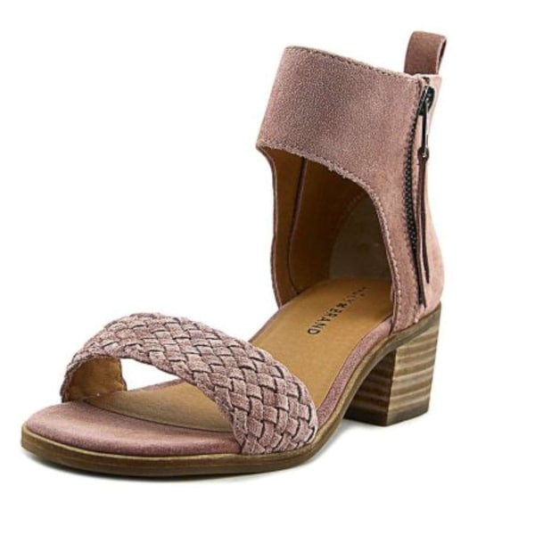 Lucky Brand Womens nichele Suede Open Toe Casual Slingback Sandals - 8