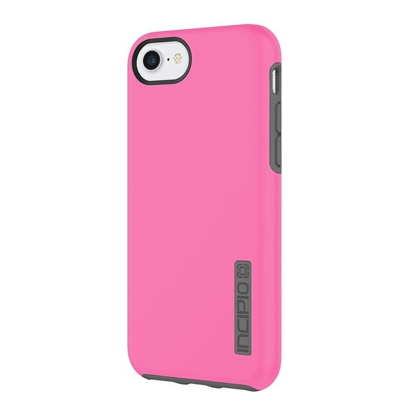 Incipio DualPro Case for iPhone 8+ & iPhone 7+/6+/6s+ - Pink/Charcoal