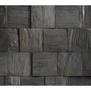 "Sierra Buttes - 8-1/2"" x 50-1/2"" Rectangular Engineered Oak Wood Paneling - Sold by Carton (15.5 SF/Carton) - N/A"