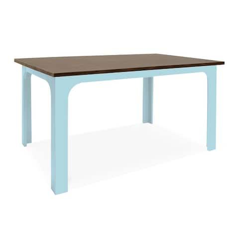 "Nico & Yeye Wood Veneer 42"" Craft Kids Table"
