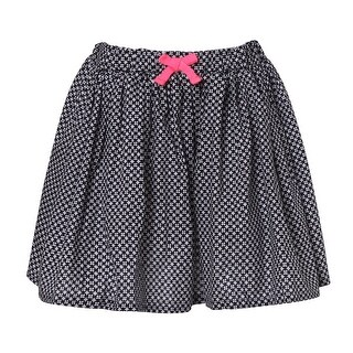 Richie House Girls' Natural Skirt with Bow
