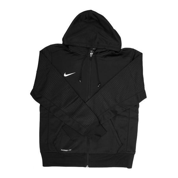 c6a551d51e5b Shop Nike Therma-FIT Men s Black Training Hoodie - Large - Free Shipping  Today - Overstock - 21293927