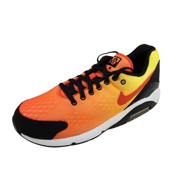 75e766c8fd Shop Nike Men's Air Max 180 EM Team Orange/Team Orange-True Tellow ...