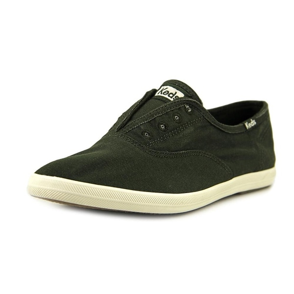 Keds Chillax Women Round Toe Canvas Green Sneakers