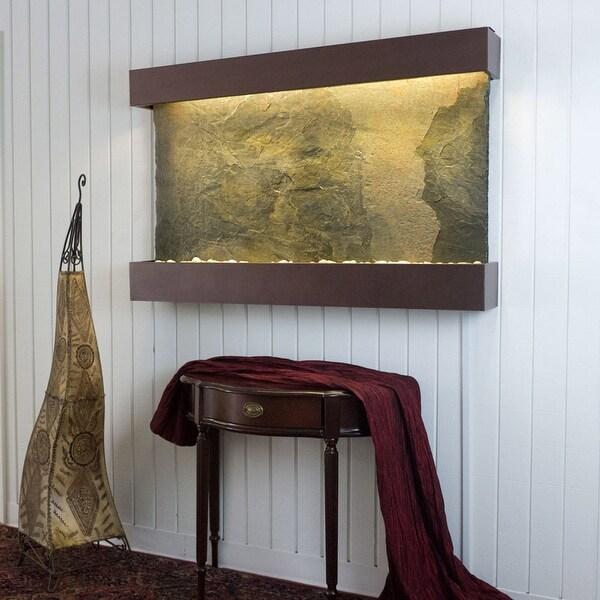 BluWorld Classic Quarry Horizontal Indoor Wall Fountain Jera Slate