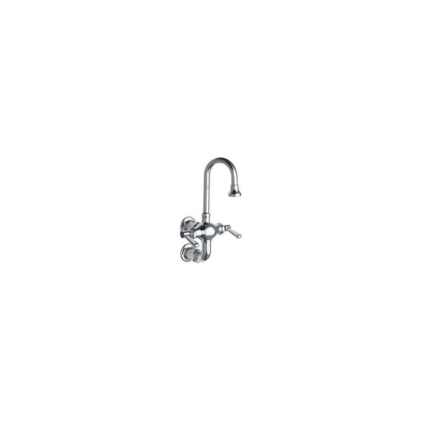 Chicago Faucets 225 261ab Wall Mounted Utility Service Faucet With Lever Handles Commercial