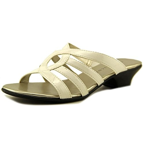 Karen Scott Womens Emet Open Toe Casual Slide Sandals