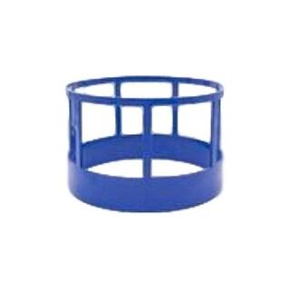 Little Buster Toy Heavy Duty Metal Cattle Hay Feeder Blue