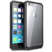 iPhone 6S Case, Supcase, Apple iPhone 6 4.7 Case, Unicorn Beetle Series Hybrid Bumper Cover-Frost/Black