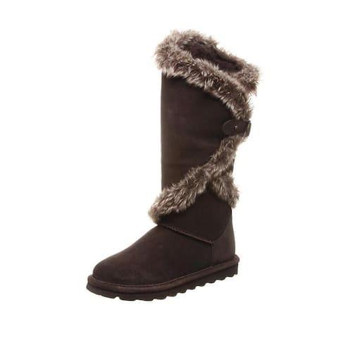 "Bearpaw Casual Boots Womens Sheilah 14"" Shaft Faux Fur Lined"