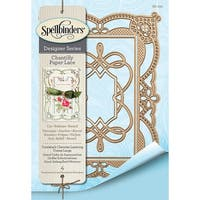 Spellbinders Chantilly Paper Lace By Becca Feeken-Coralene's Chemise Layering Frame