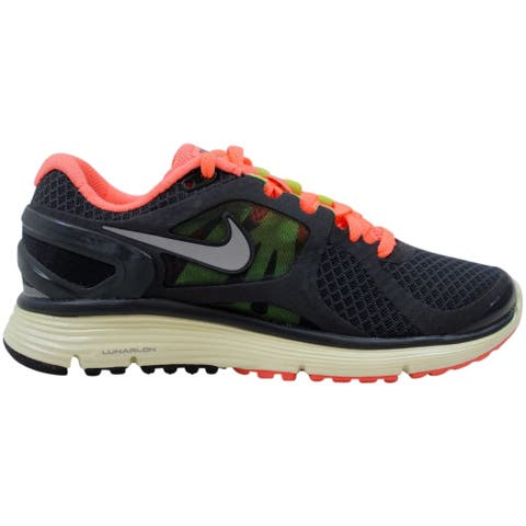 Nike Women's LunarEclipse+ 2 Anthracite/Reflect Silver-Bright Mango 487974-008