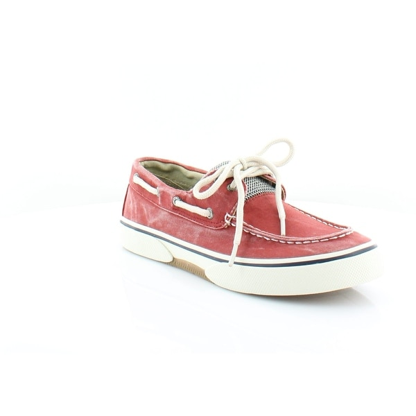 Sperry Top-Sider Halyard 2-Eye Men's Loafers & Slip-Ons SW Red - 7.5