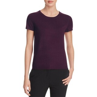 Private Label Womens Blouse Cashmere Short Sleeves