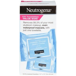 Neutrogena Make Up Remover Facial Wipes 125 Towelettes - BLue - 125 count
