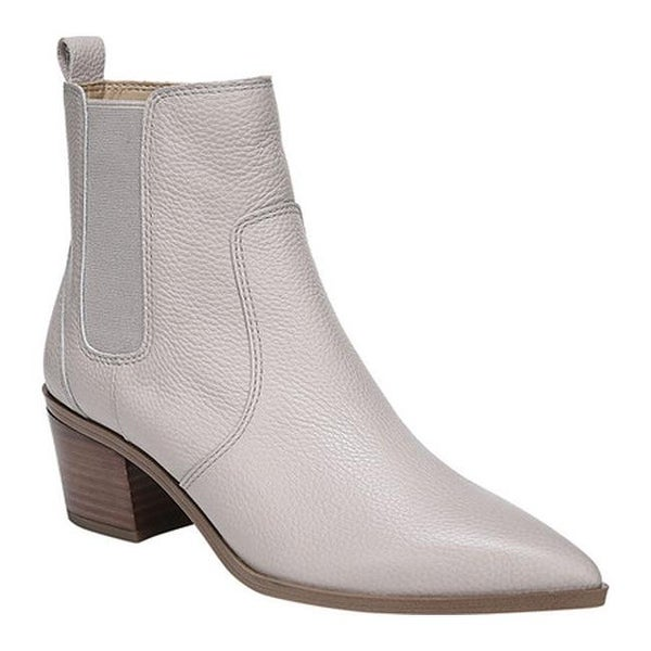 e7559d670936 Shop Franco Sarto Women s Sienne Ankle Boot Steel New Cancun Leather ...
