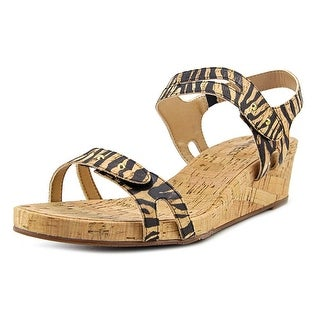 Vaneli Keana Women W Open Toe Leather Multi Color Sandals