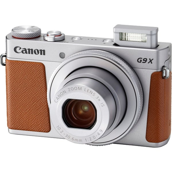 Canon PowerShot G9 X Mark II Compact Digital Camera (Silver)