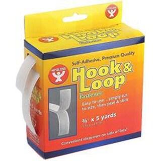 """.75"""" - Hook And Loop Self-Adhesive Fastener Roll 5yds"""