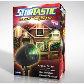 Startastic Holiday Light Show Laser Light Projector - As Seen on TV