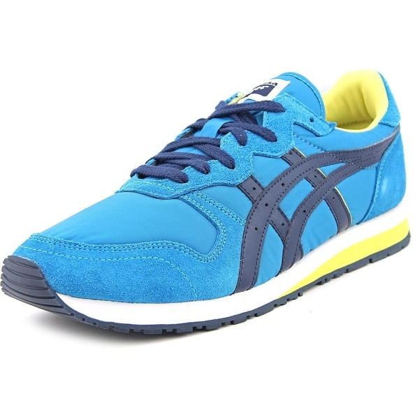 Onitsuka Tiger by Asics OC Runner Men Round Toe Suede Blue Running Shoe