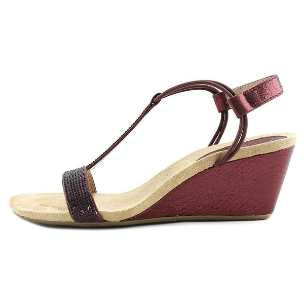 Style & Co. Womens Mulan Open Toe Casual T-Strap Sandals