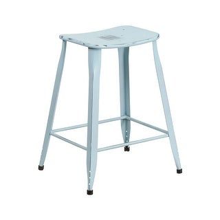 Distressed Cottage Oak Deluxe Bar Stool Free Shipping