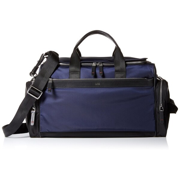 Hugo Boss New Blue Men X27 S Duffle Bag Polyamide Nylon Double Zipper