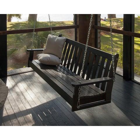 POLYWOOD Vineyard 60-inch Outdoor Swing