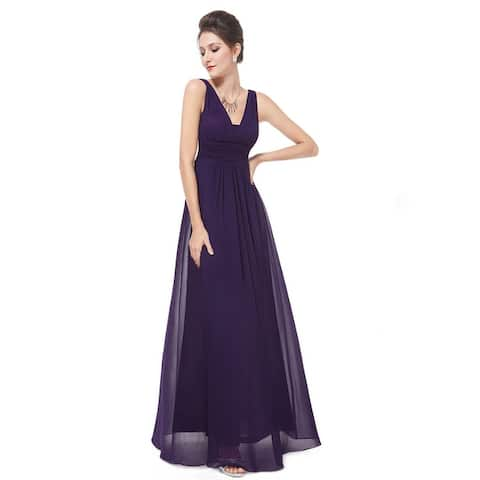 db37739e5c Ever-Pretty Women s Elegant Deep V-neck Long Evening Dress 08110
