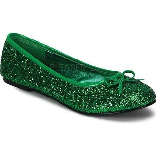 Funtasma Women's Star 16G Green Glitter