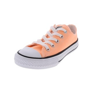 Converse Girls Chuck Taylor Casual Shoes Low Top Close Toe