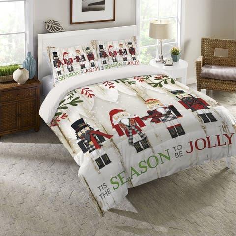 Nutcracker Christmas King Comforter