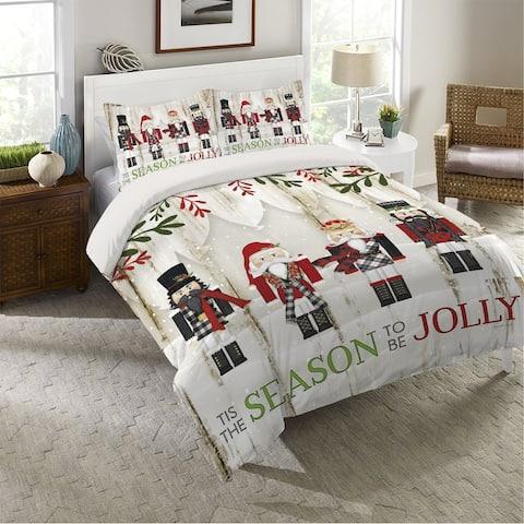 Nutcracker Christmas Queen Comforter