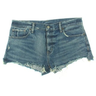 Denim & Supply Ralph Lauren Womens Cutoffs Boyfriend Denim Shorts - 29