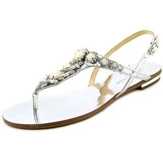 Ivanka Trump Fona Open Toe Leather Sandals