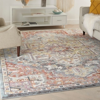 Link to Nourison Juniper Floral Area Rug Similar Items in Rugs