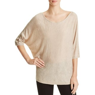Splendid Womens Bailey Pullover Sweater Batwing Slit Sleeves