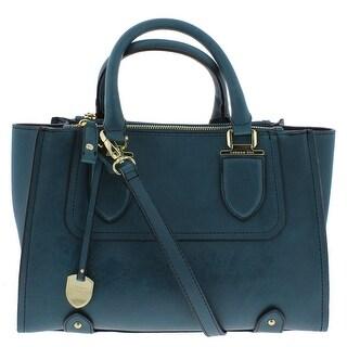 London Fog Womens Kensington Tote Handbag Convertible - Medium