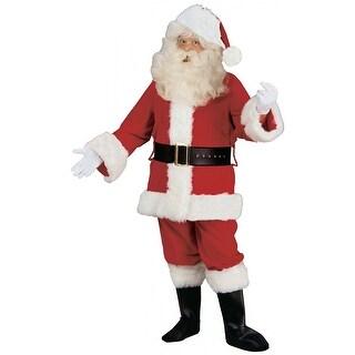 Deluxe Velvet Santa Claus Suit (2 options available)