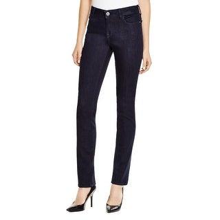 DL1961 Womens Coco Straight Leg Jeans Curvy Fit Stretch