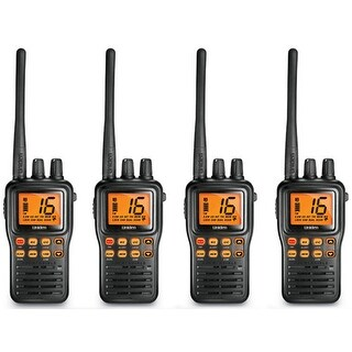 Uniden MHS75 4-Pack MHS75 Two-Way Marine Radio