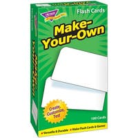 Flash Cards Make Your Own 100/Box