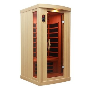 Golden Designs 1-2 Person Limited Edition Puretech Ultra Low EMF Infrared Sauna