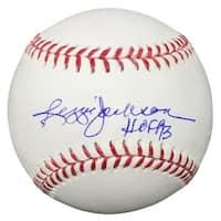 Reggie Jackson New York Yankees Signed Official MLB Baseball HOF 93 JSA ITP