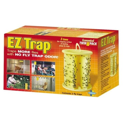 Farnam 3004323 EZ Trap Sticky Fly Trap, Pack-2