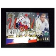 Signed Malik Marek 1995 Upper Deck Hocky Card autographed